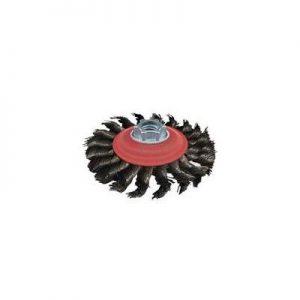 4-12 steel .020 Stringer Bead Knot Wire Wheel Qty.6