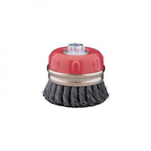 4 steel .020 Twist Knot Wire Cup Brush Qty.1