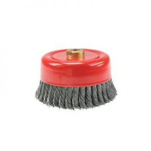 6 steel .020 Twist Knot Wire Cup Brush Qty.1