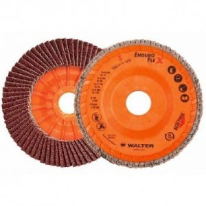 4-1/2 X 5/8-11 40G Type 29 Trimable Flap Disc Spin On Qty.10