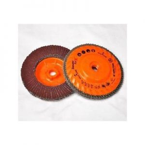 4-1/2 X 5/8-11 80G Type 29 Trimable Flap Disc Spin On Qty 10