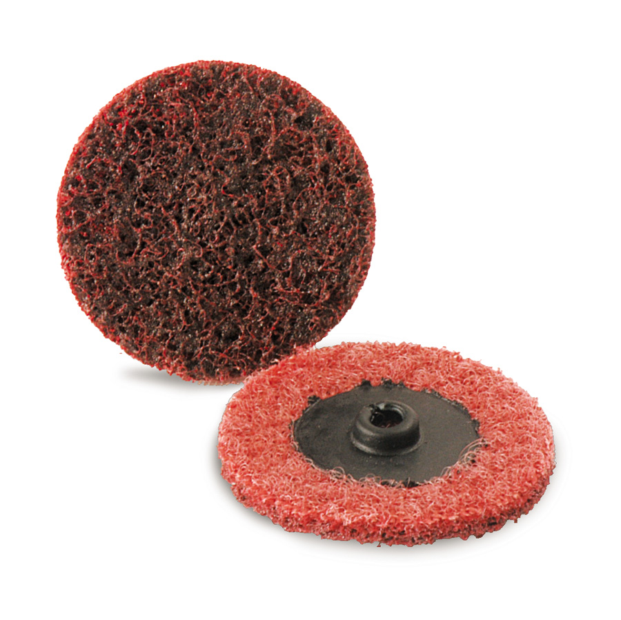 Details about  /3M SC2RED-25 2 Inch Roloc Surface Conditioning Discs Medium Red Quick Change ...